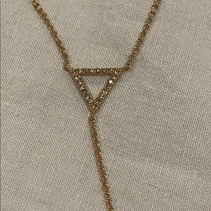 J. Crew Jewelry - J.Crew Y necklace with triangle details